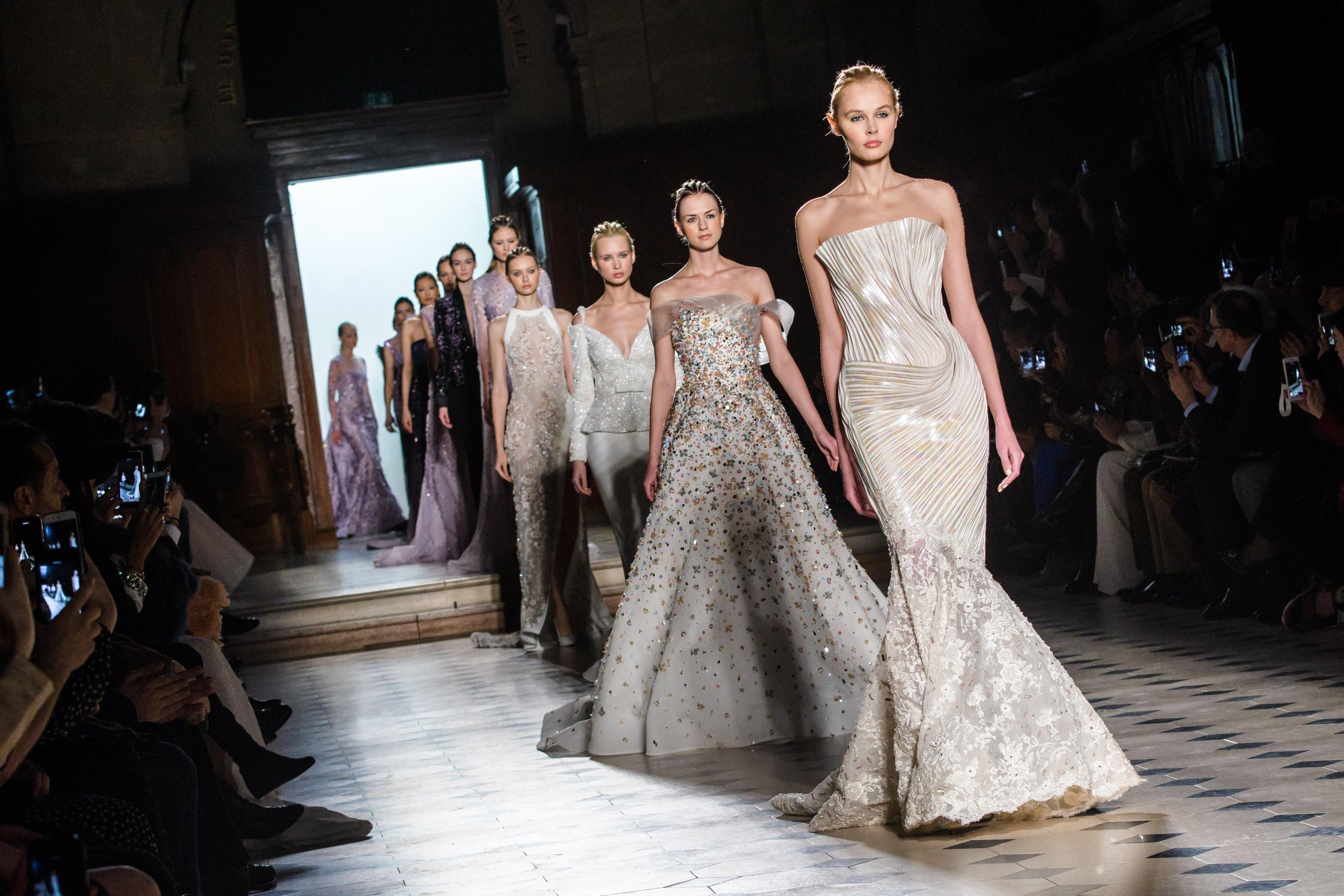 Tony Ward abiti da sposa haute couture gennaio 2018