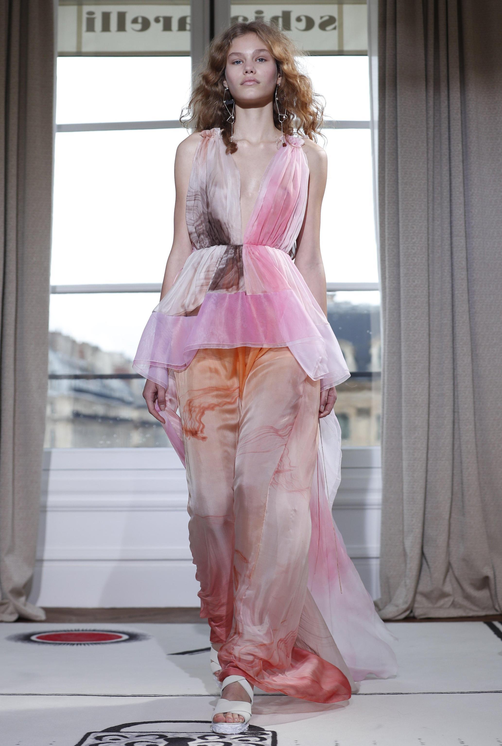 Schiaparelli abito Paris Haute Couture gennaio 2018