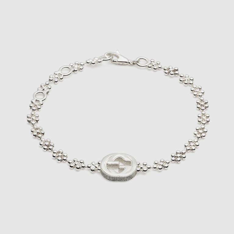 Bracciale in argento Gucci