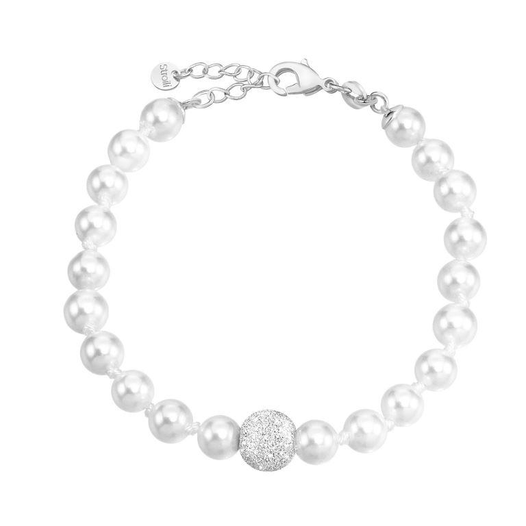 Bracciale in argento Stroili Oro con perle