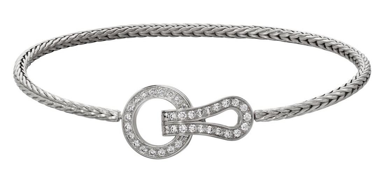 Bracciale in oro bianco con diamanti Cartier bracciali 2018