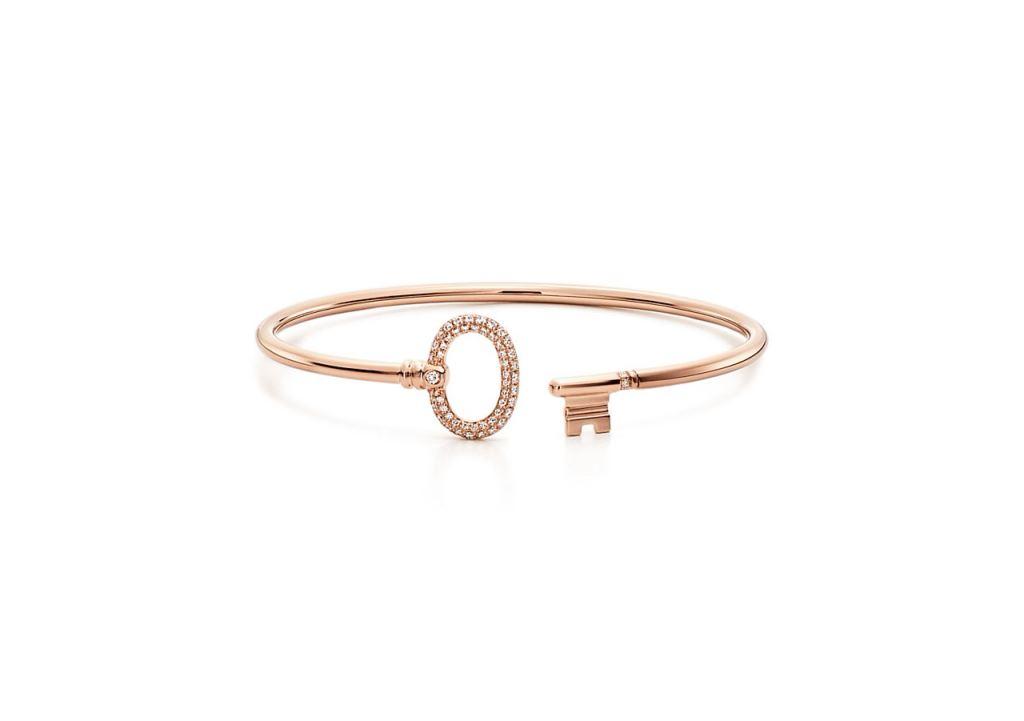 Bracciale in oro rosa con diamanti Tiffany bracciali 2018
