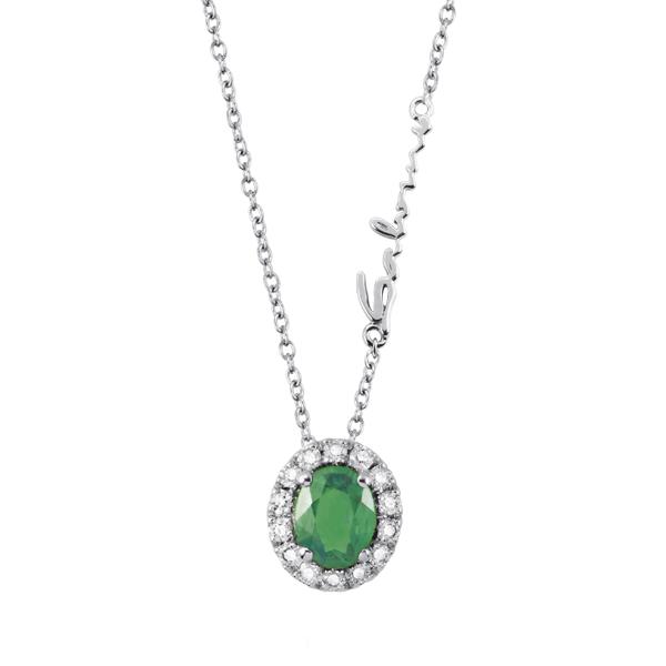 Collana con smeraldi e diamanti Salvini Gioielli collezione 2018