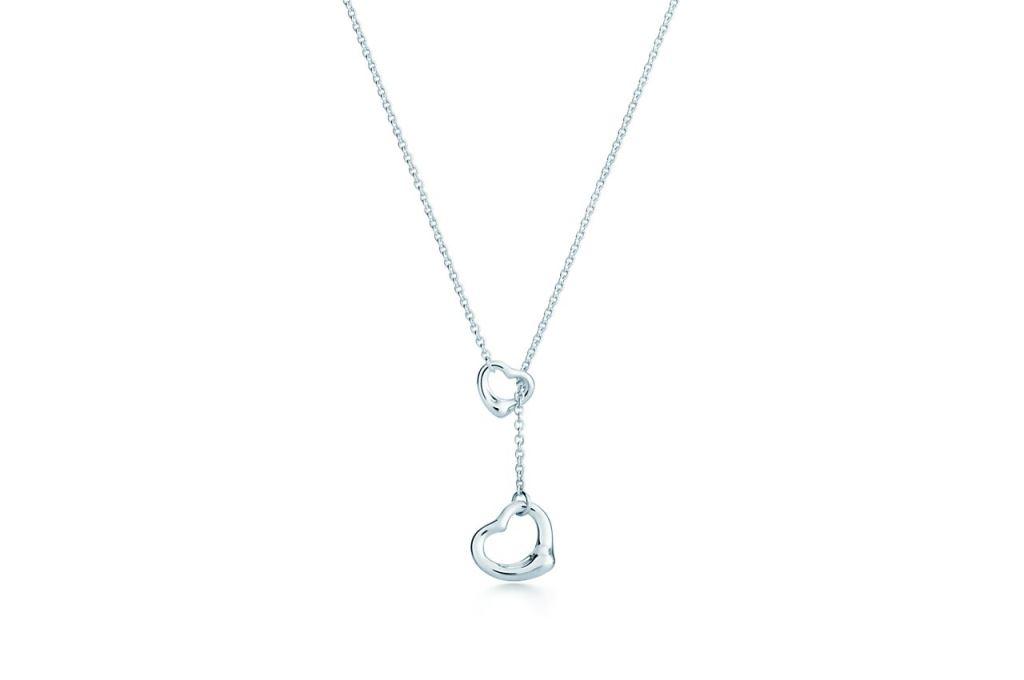 Collana in argento Tiffany con cuori san valentino 2018