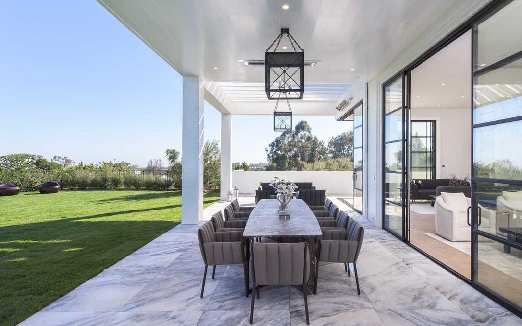 La nuova abitazione di Los Angeles per la star del basket James LeBron (4)
