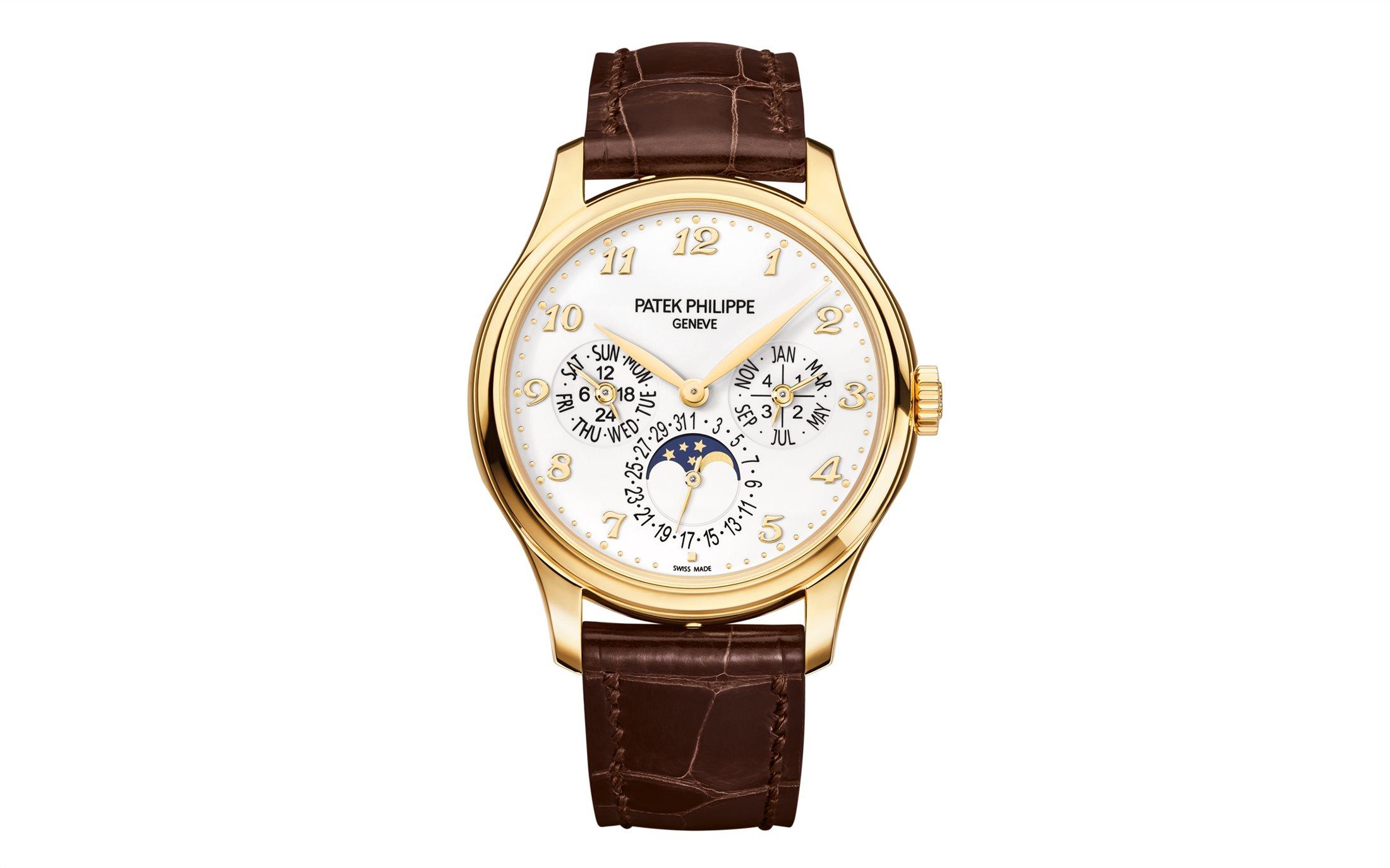 Orologio da uomo elegante Patek Philippe Grandi Complicazioni in oro rosa regali san valentino 2018