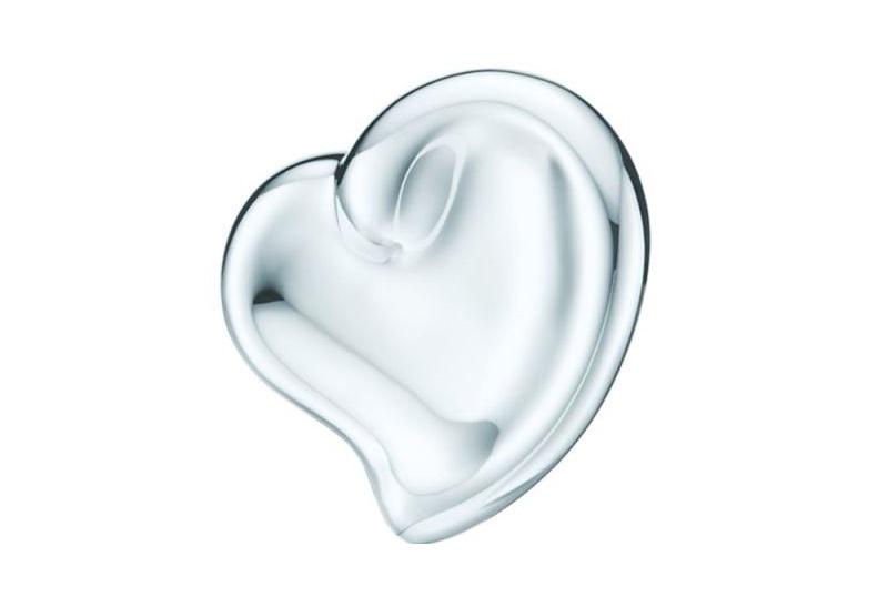 Piatto in argento a forma di cuore Tiffany & Co regali san valentino 2018 di lusso