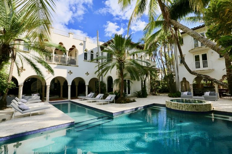 Venduta a Miami Beach la casa di Lenny Kravitz