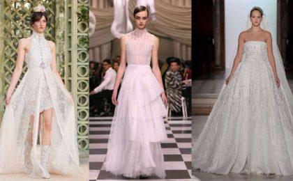 Abiti da sposa Haute Couture Primavera/Estate 2018 da Parigi, i più romantici [FOTO]