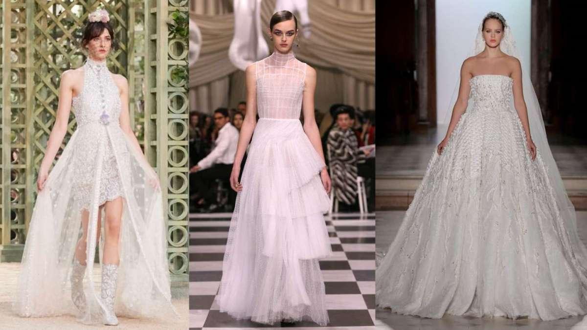 Abiti da sposa Haute Couture Primavera Estate 2018 da Parigi 490c5ab487d