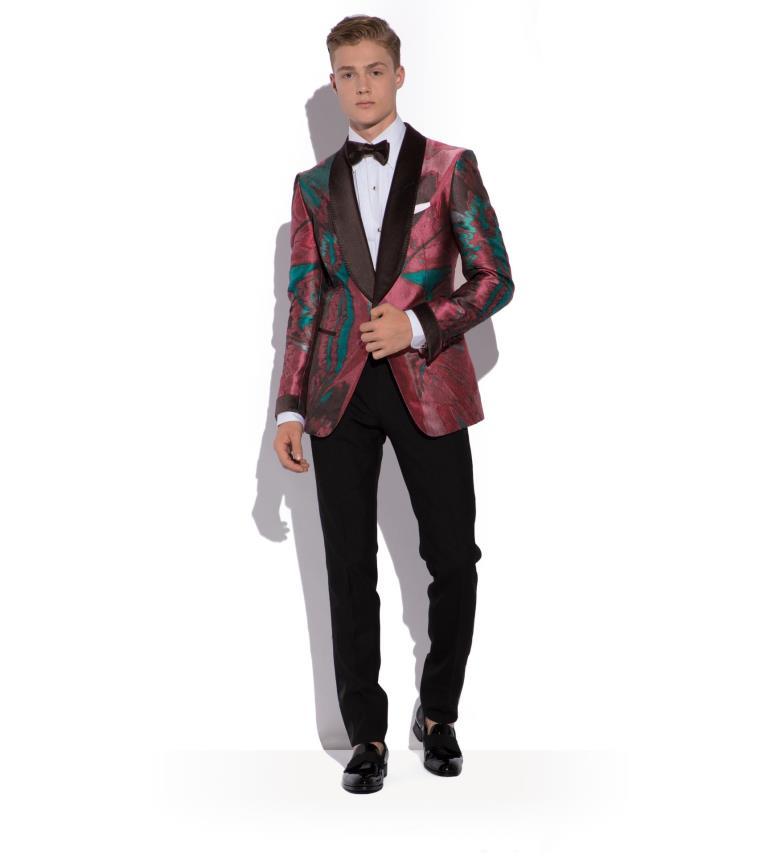Abito da cerimonia da uomo Tom Ford con giacca jacquard