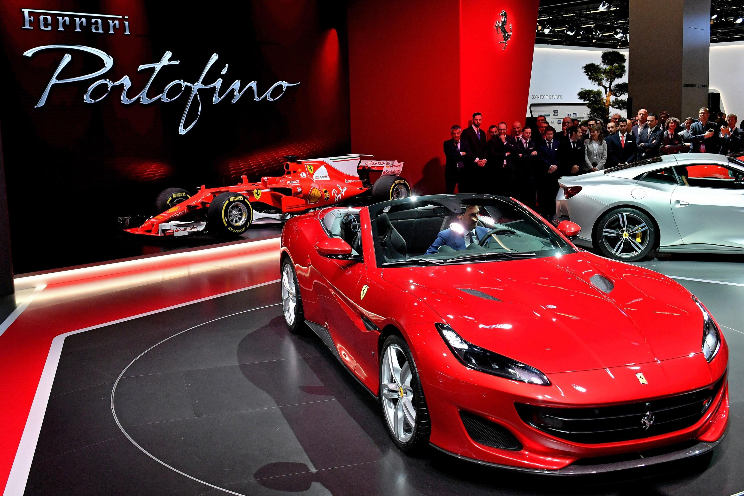 Ferrari Portofino auto di lusso 2018