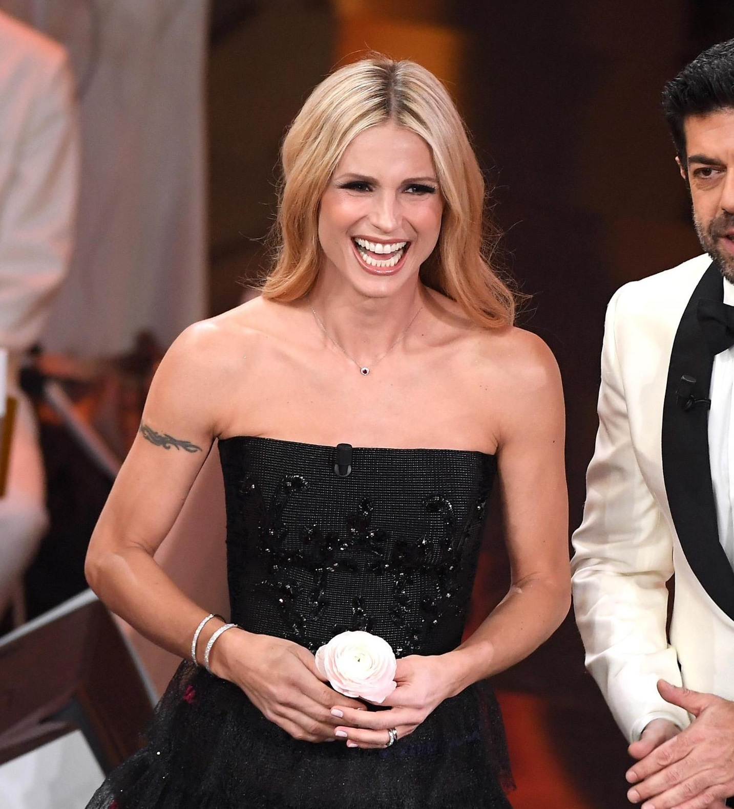 i gioielli di Michelle Hunziker nella finale di Sanremo