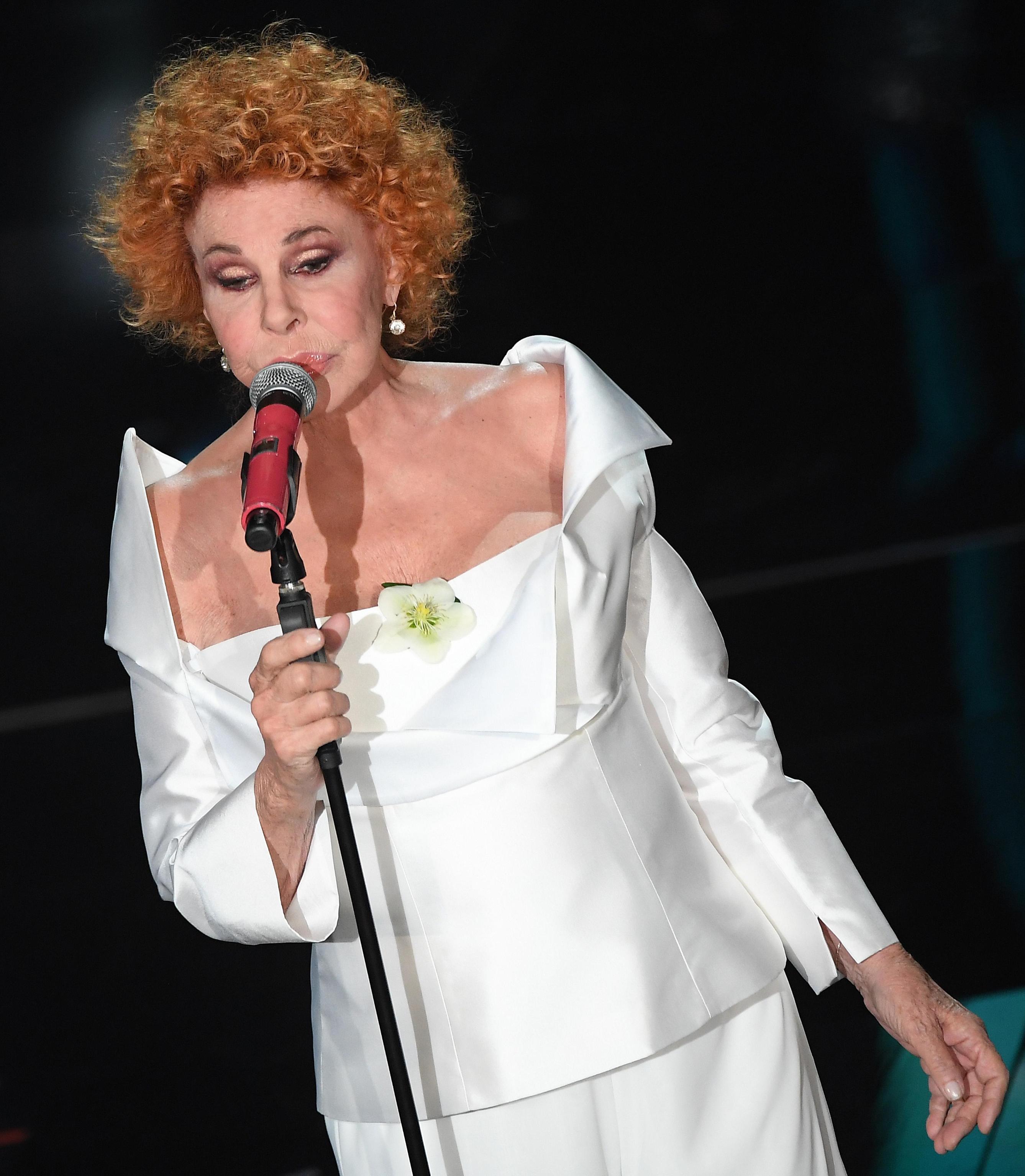 I gioielli di Ornella Vanoni a Sanremo 2018