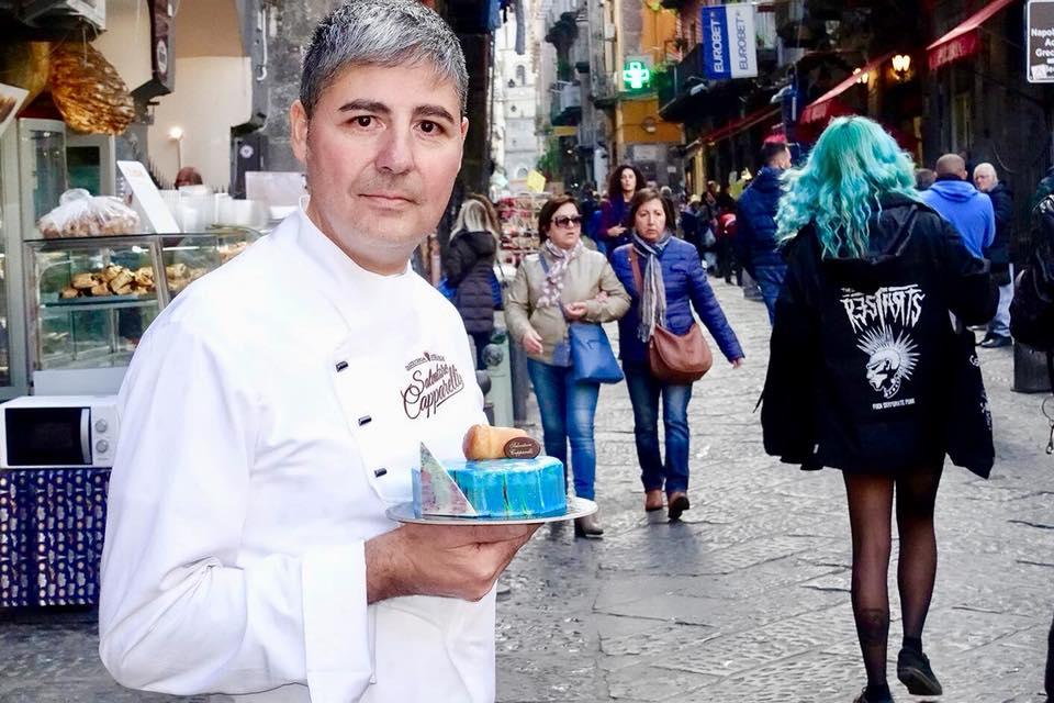 Il pasticcere napoletano Salvatore Capparelli della Pasticceria Capparelli
