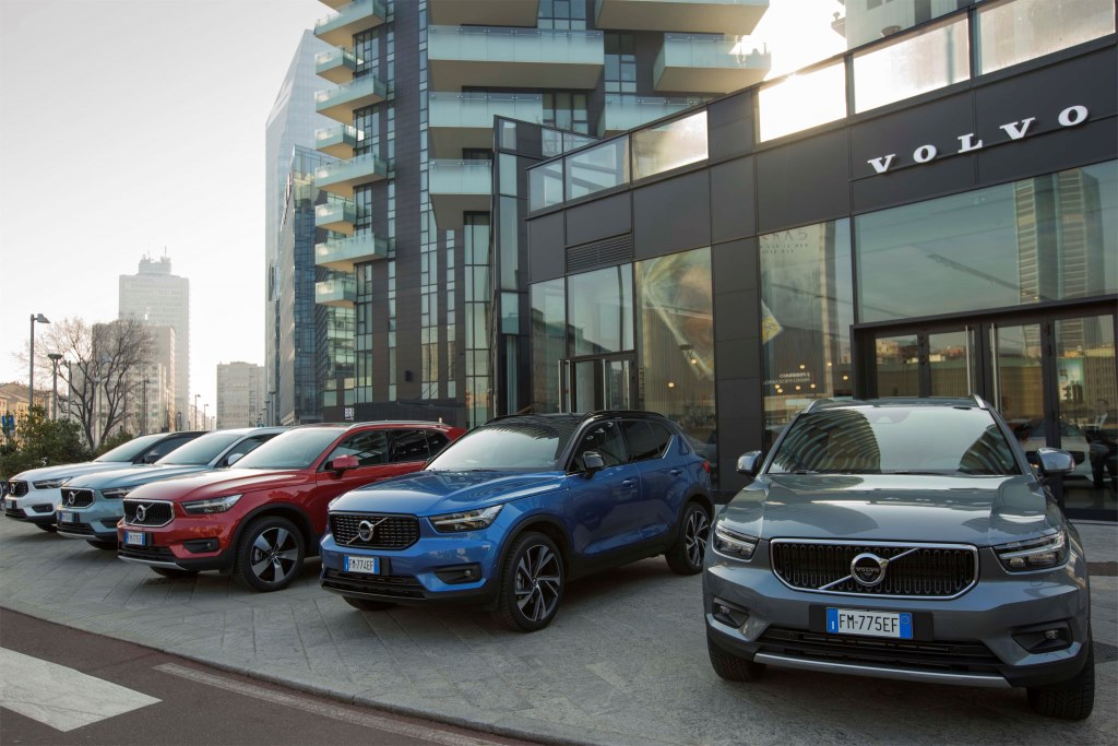 Le nuove Volvo XC40
