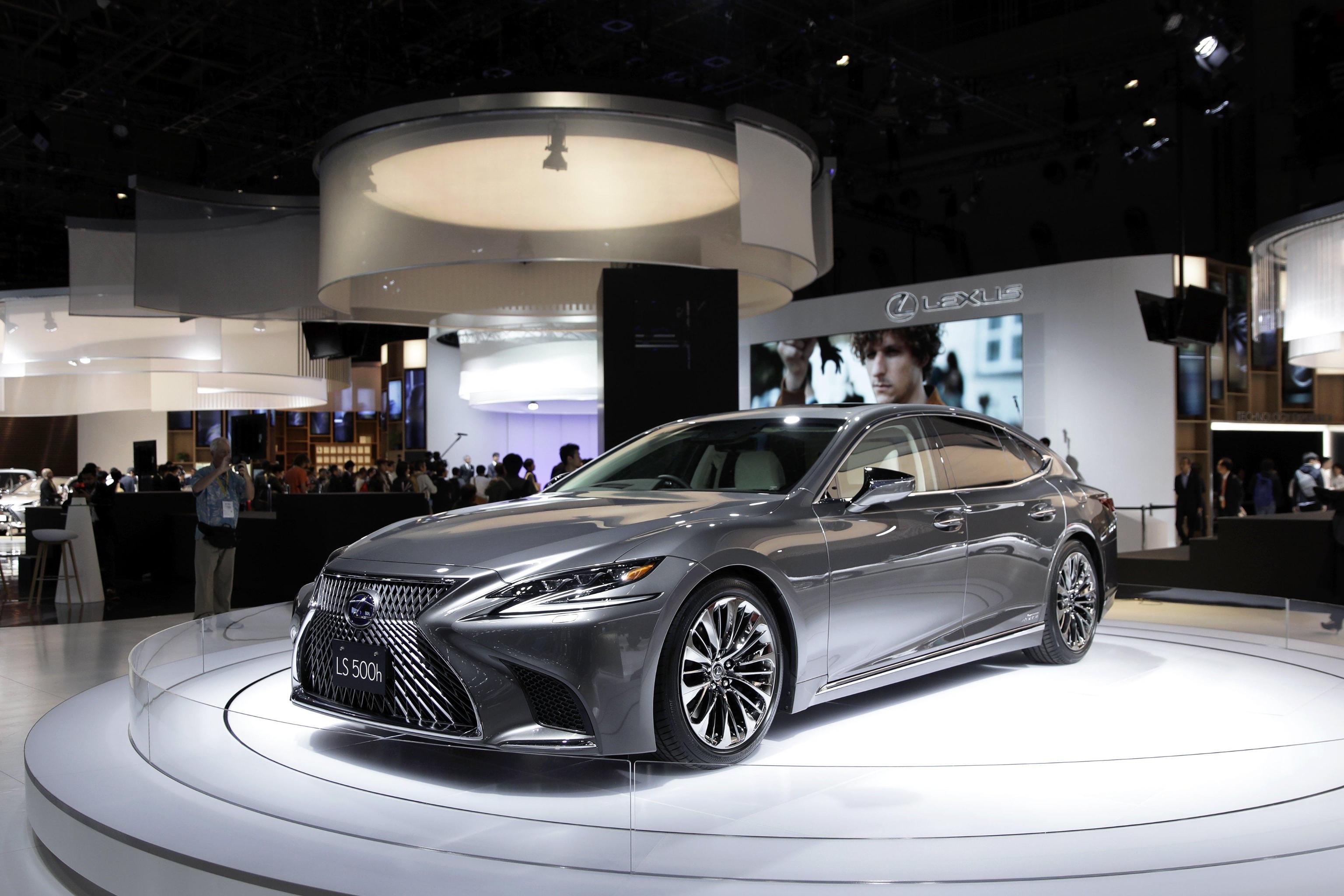 Lexus LS auto di lusso 2018