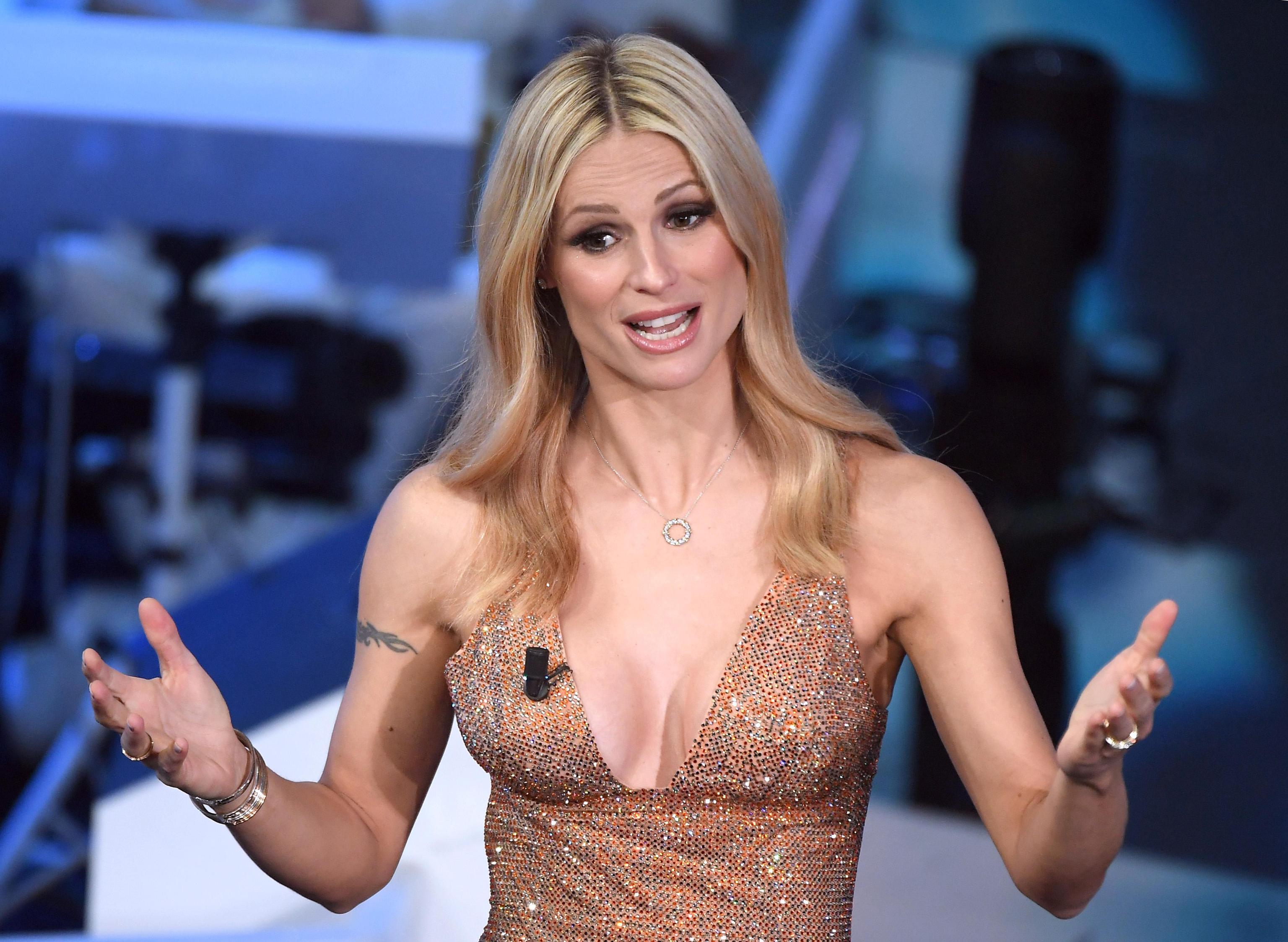 Michelle con gioielli Tiffany nella serata finale di Sanremo