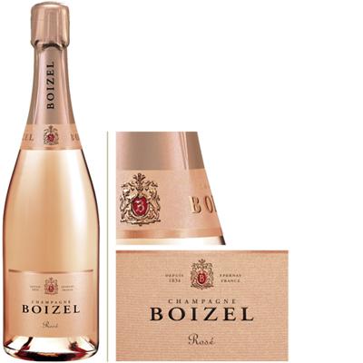 San Valentino 2018 migliori bottiglie vini Champagne Boizel Rosè
