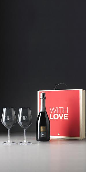 San Valentino 2018 migliori bottiglie vini dubl with love