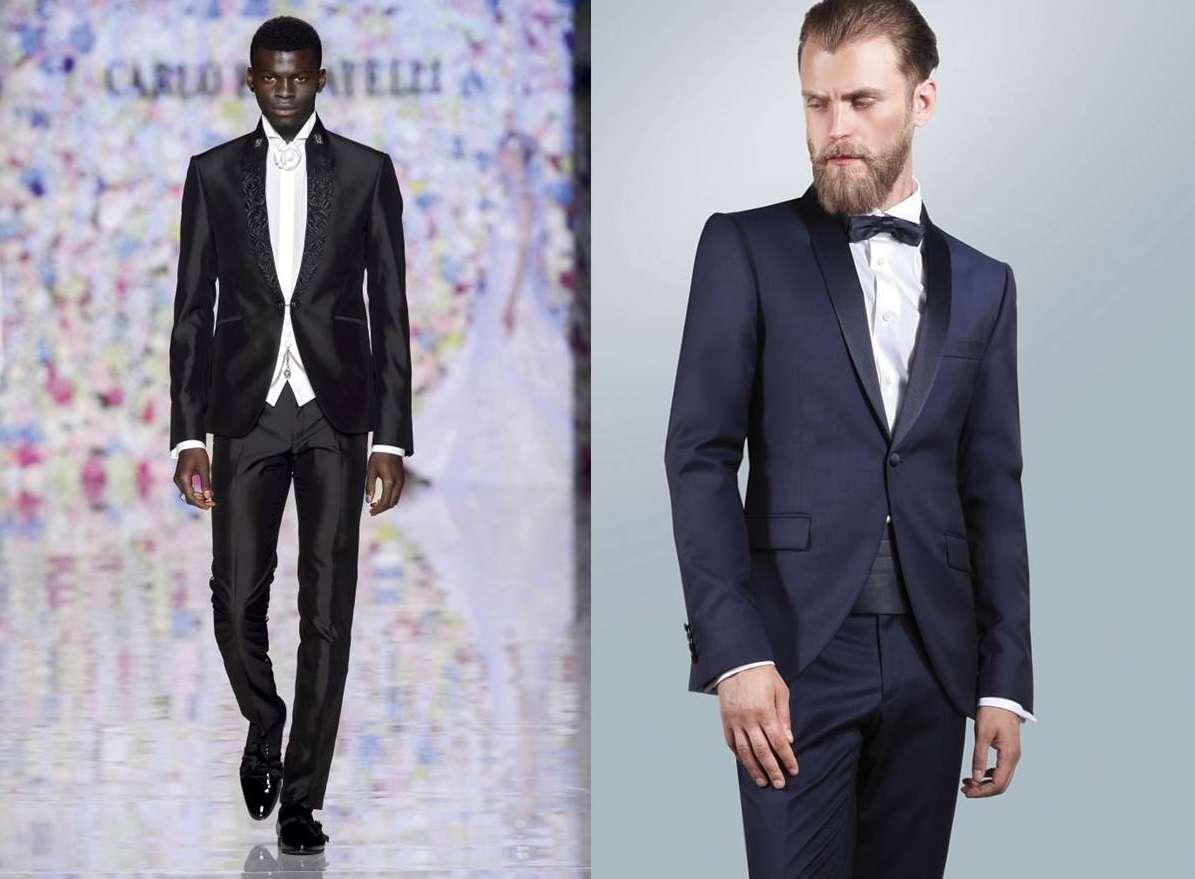 Vestiti eleganti uomo giovanili blu