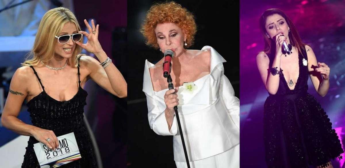 Sanremo 2018, tutti i gioielli sul palco dell'Ariston [FOTO]