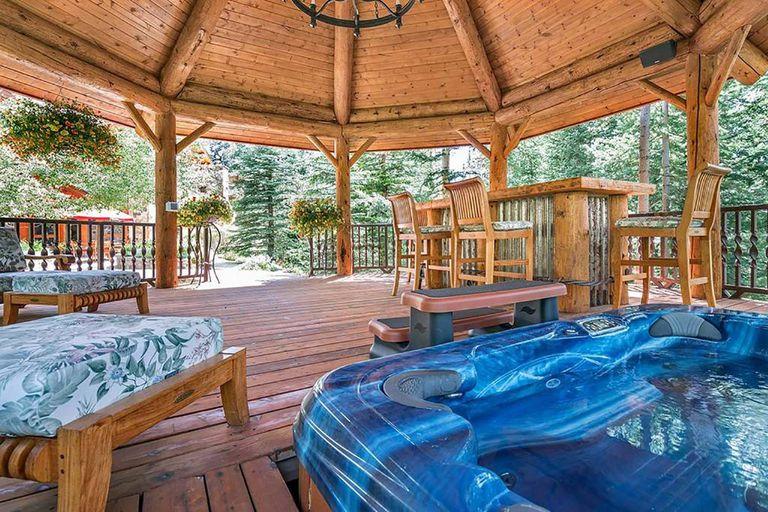 Ariana Grande affitta la splendida villa sulle montagne del Colorado (6)