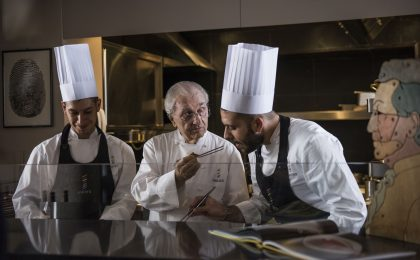 'Gualtiero Marchesi – The Great Italian' il film dedicato allo chef stellato