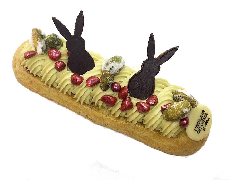 L'Eclair De Genie, dolce a coniglio pasqua per Pasqua
