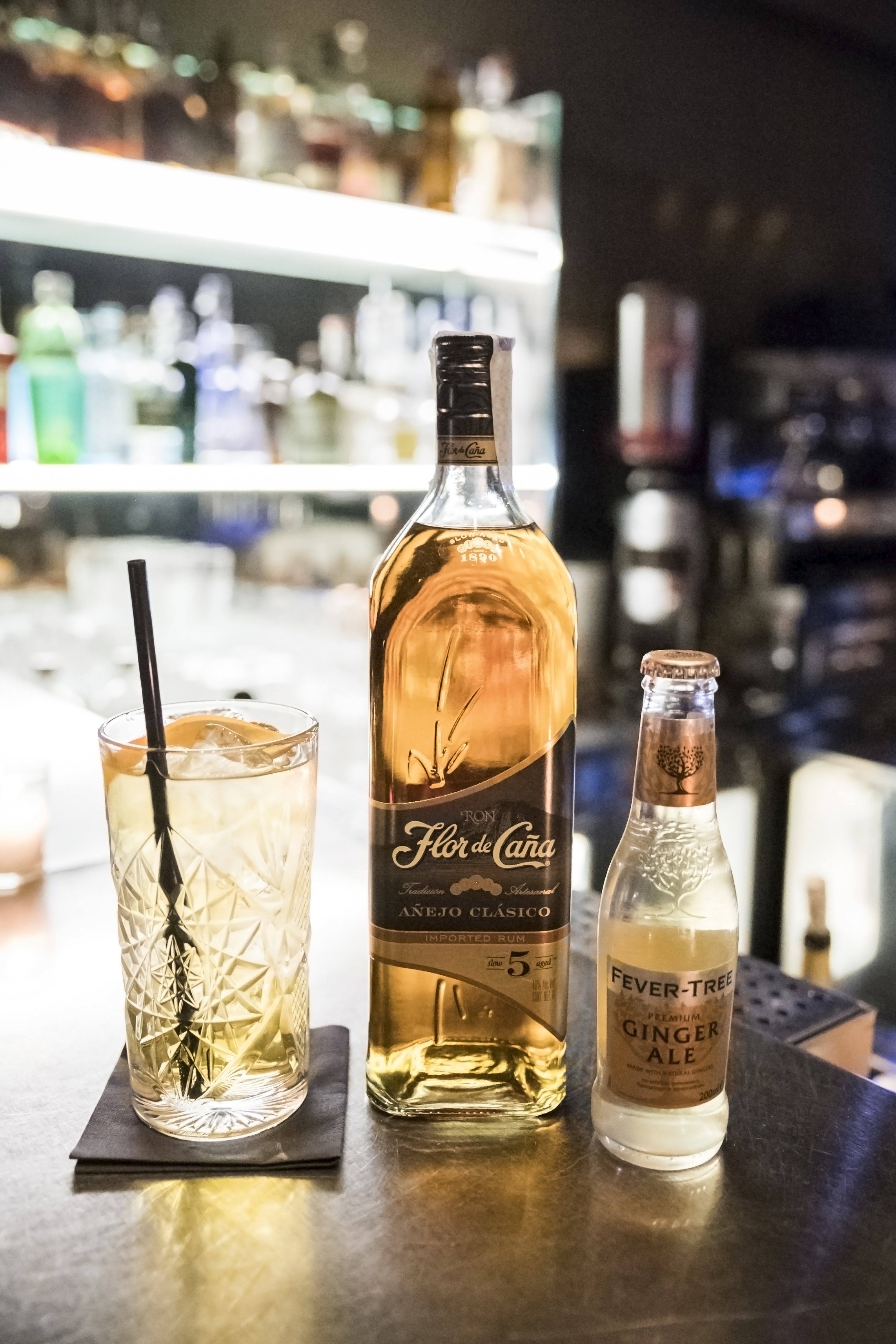 cocktail flor de cana