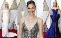 Oscar 2018: abiti, gioielli e accessori delle star sul red carpet più atteso del cinema [FOTO]