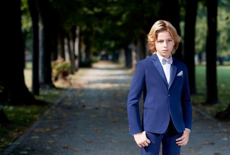 Completo blu per bambino Carlo Pignatelli Junior