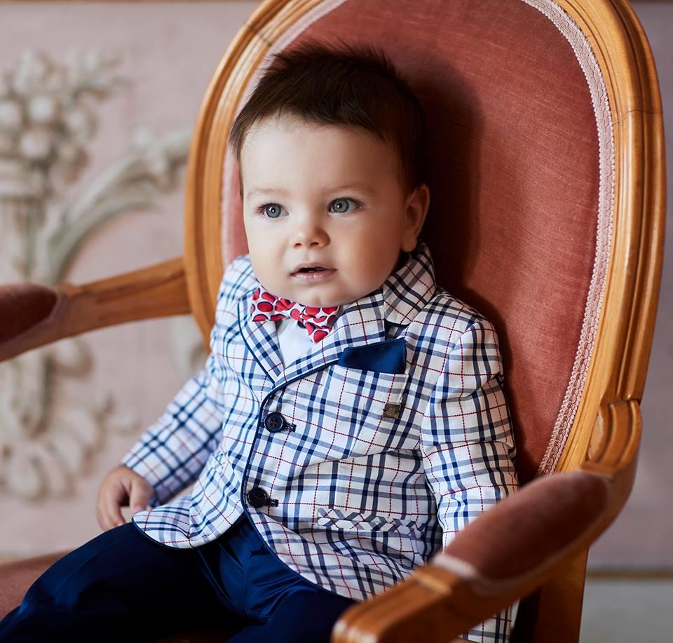 Completo elegante per neonato Carlo Pignatelli Junior