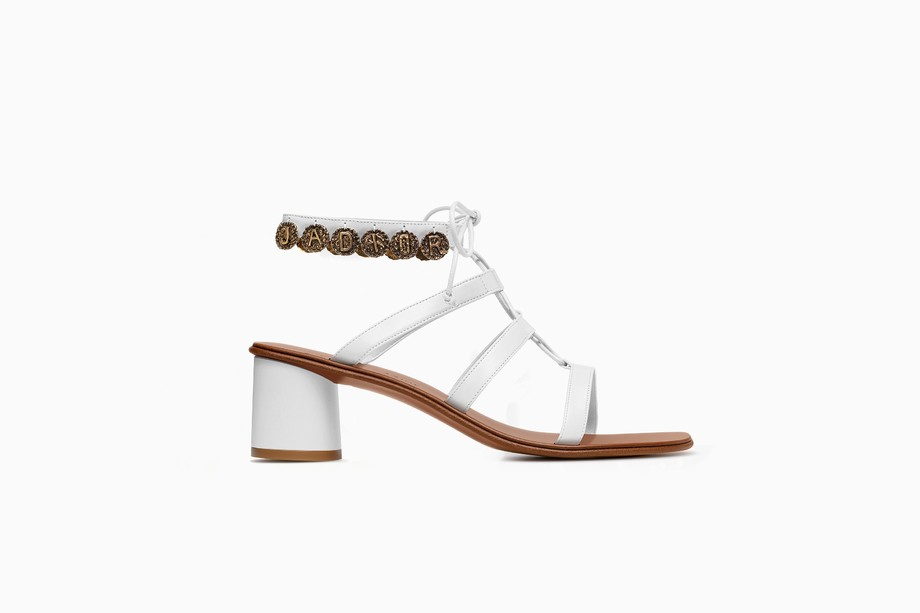 Sandali con tacco basso Dior Zodiac