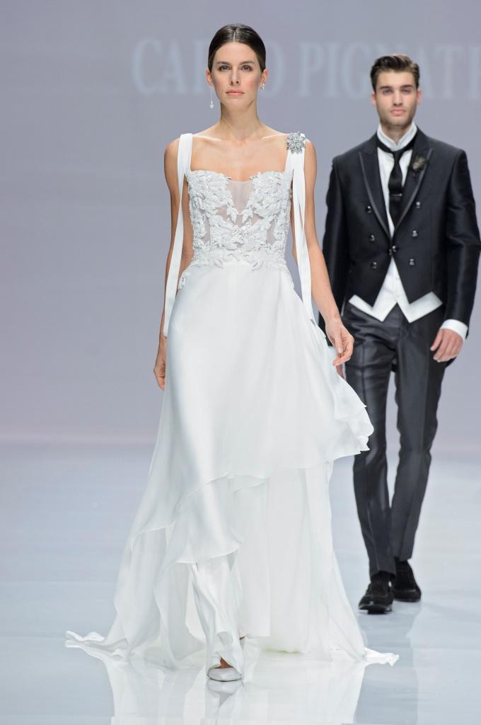 Abito da sposa gioiello Carlo Pignatelli