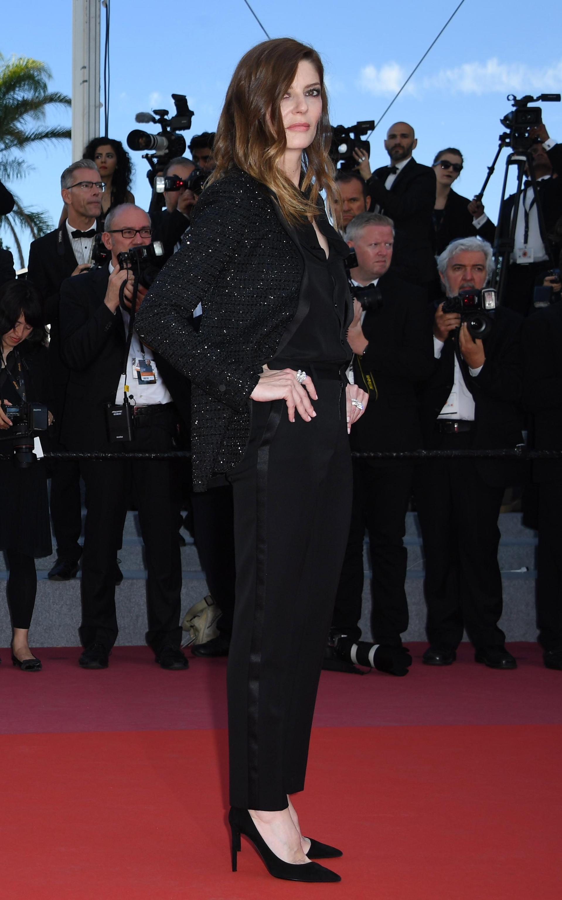 Chiara Mastroiani in Saint Laurent