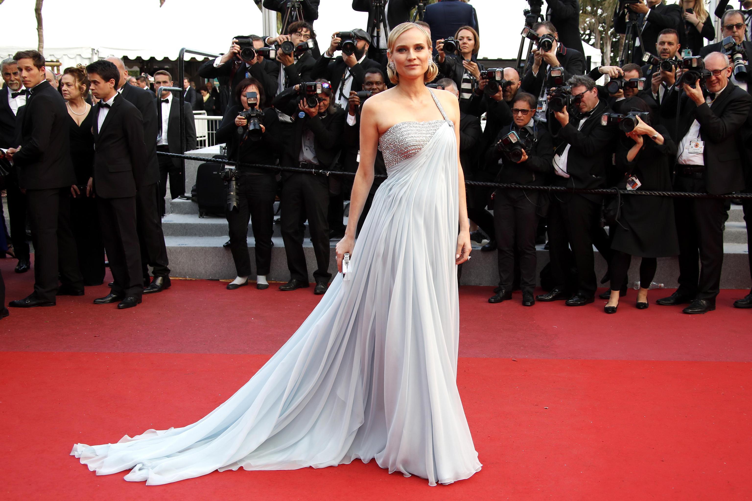 Diane Kruger in Armani Privè