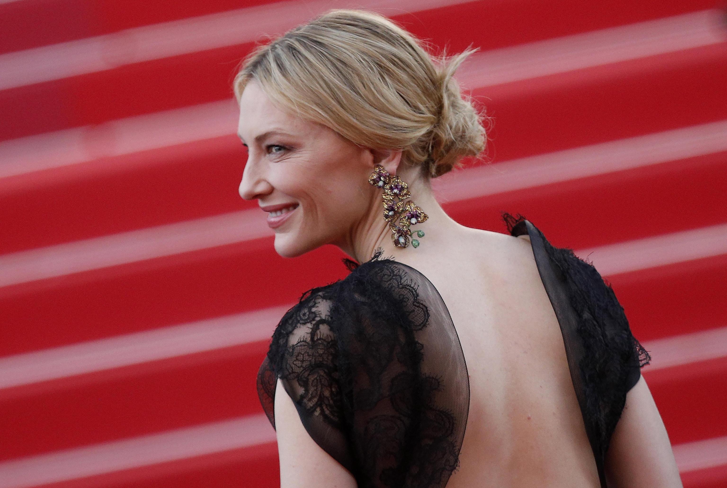 Gli orecchini Chopard di Cate Blanchett