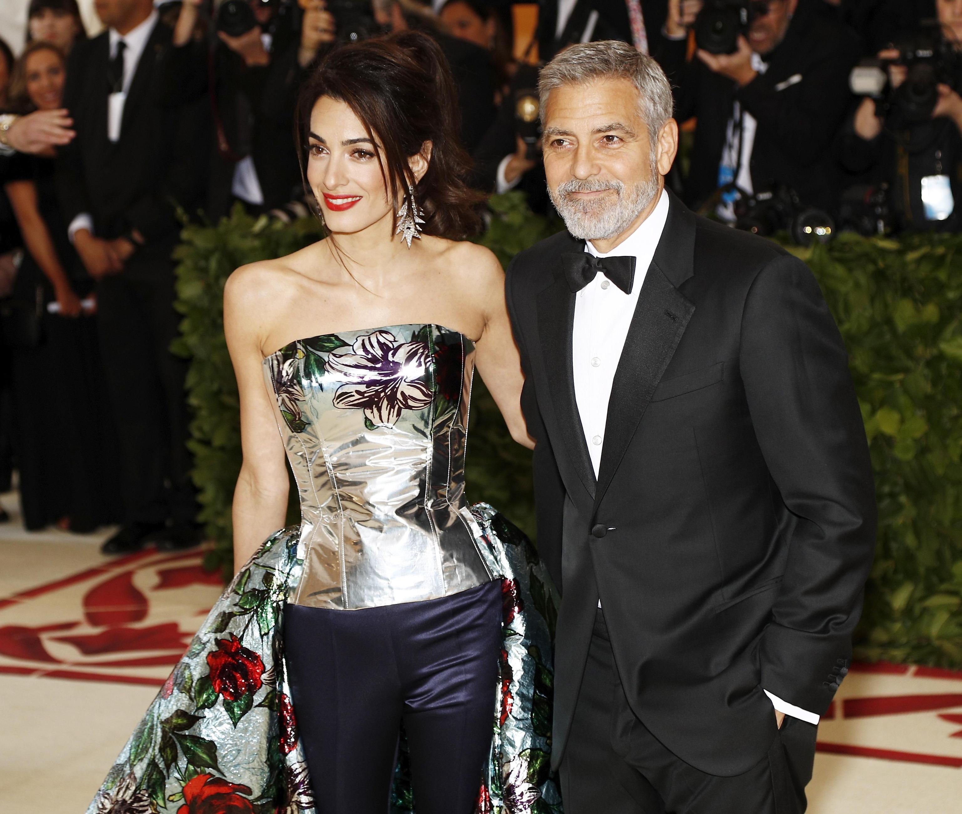 I gioielli di Amal Clooney