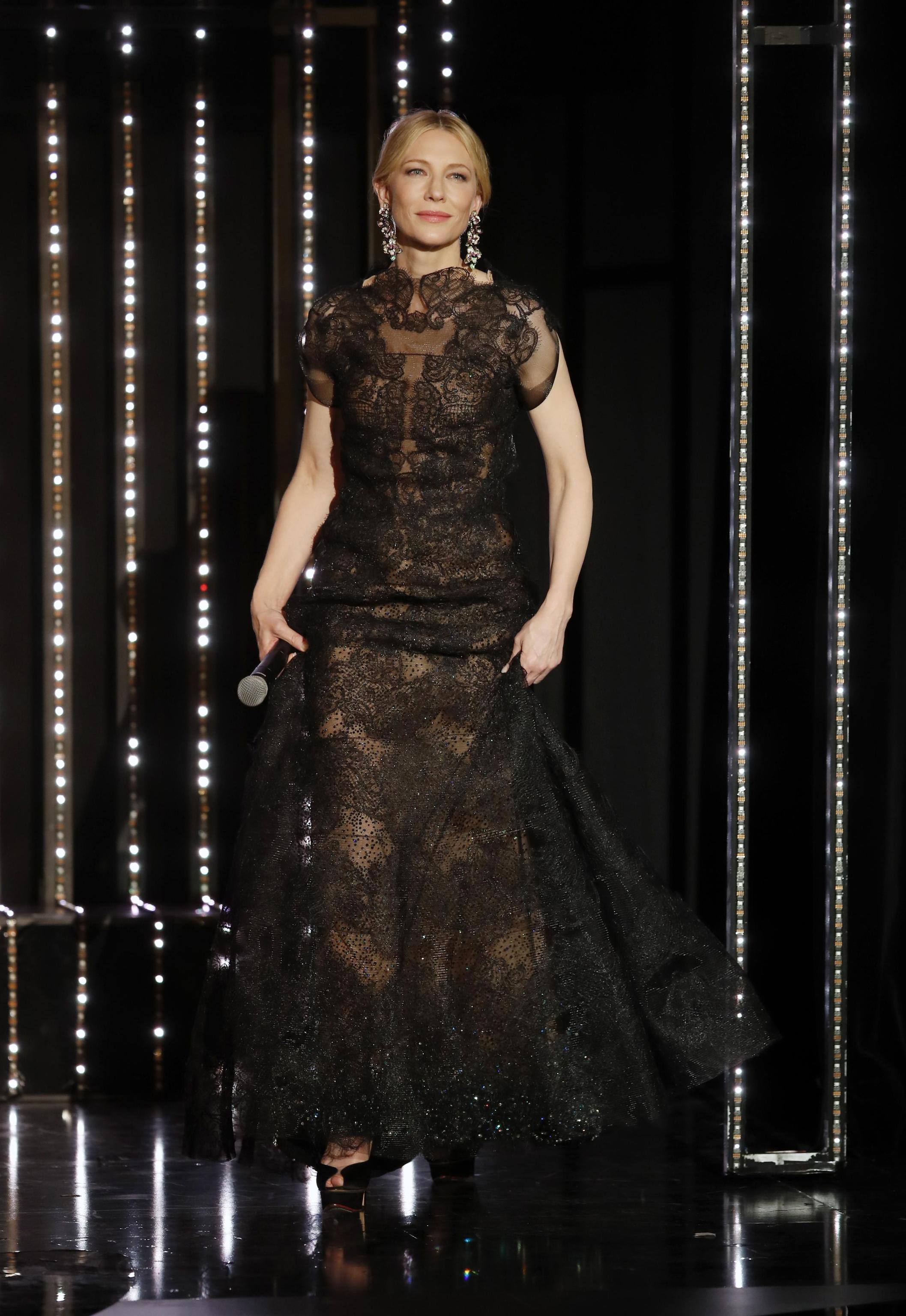 Kate Blanchett con abito Armani Privè