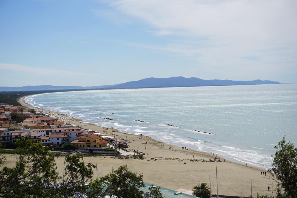 La spiaggia di Castiglione della Pescaia