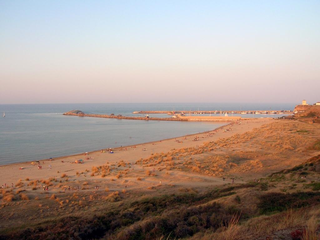 La spiaggia di Punta Penna a Vasto
