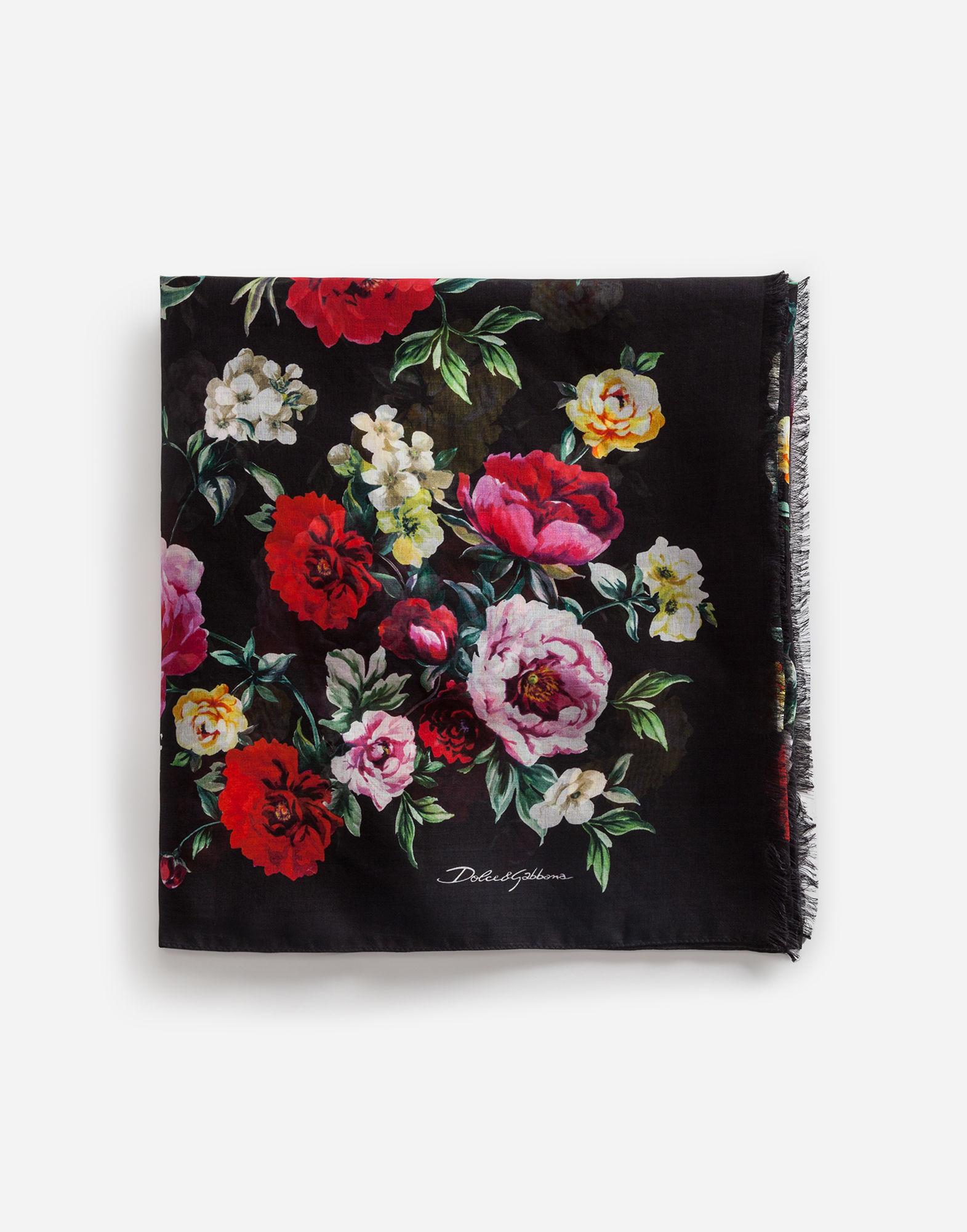 Pareo a fiori Dolce & Gabbana