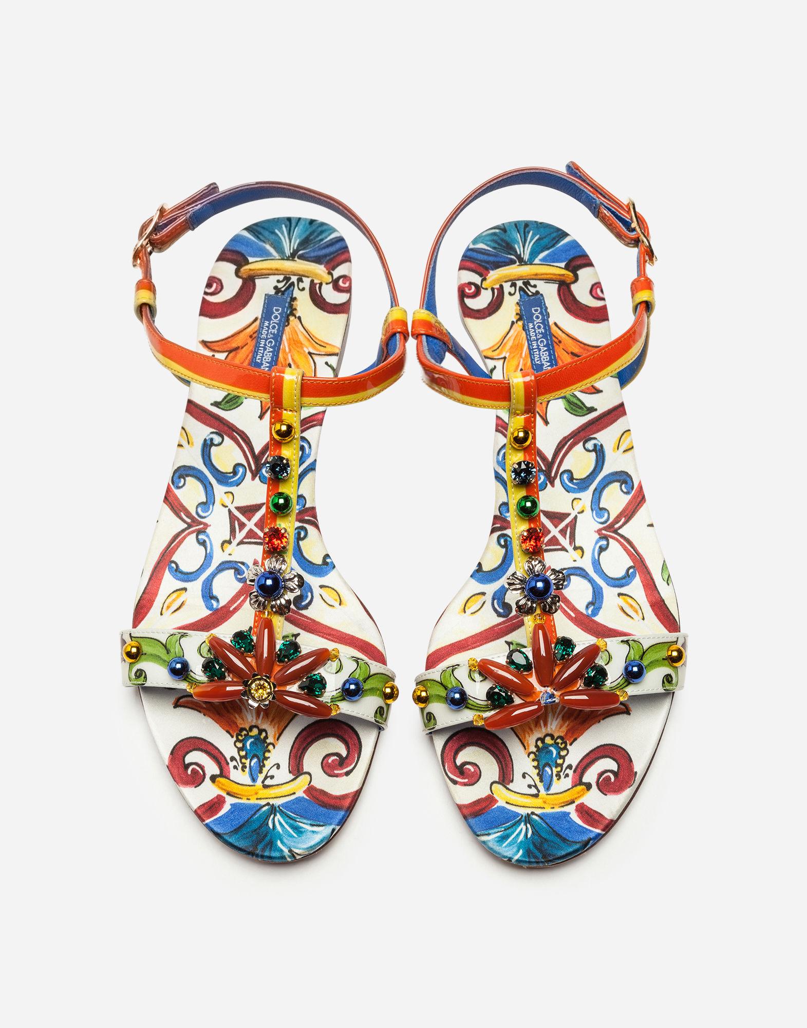 Sandali infradito decorati Dolce & Gabbana