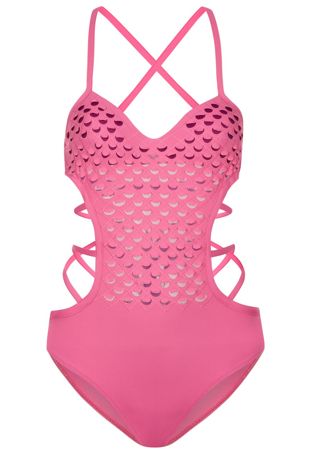 Trikini rosa La Perla