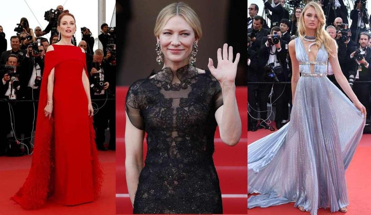9d4b83f7d3f6 Festival di Cannes 2018  gli abiti e i gioielli da sogno sulla Croisette   FOTO