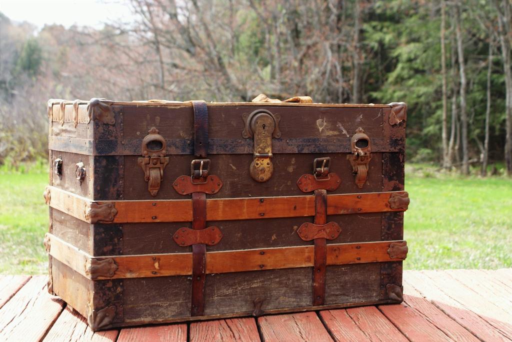 Baule vintage, davidraynisley pixabay