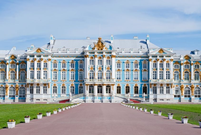 Castelli estate 2018 Catherine Palace Russia
