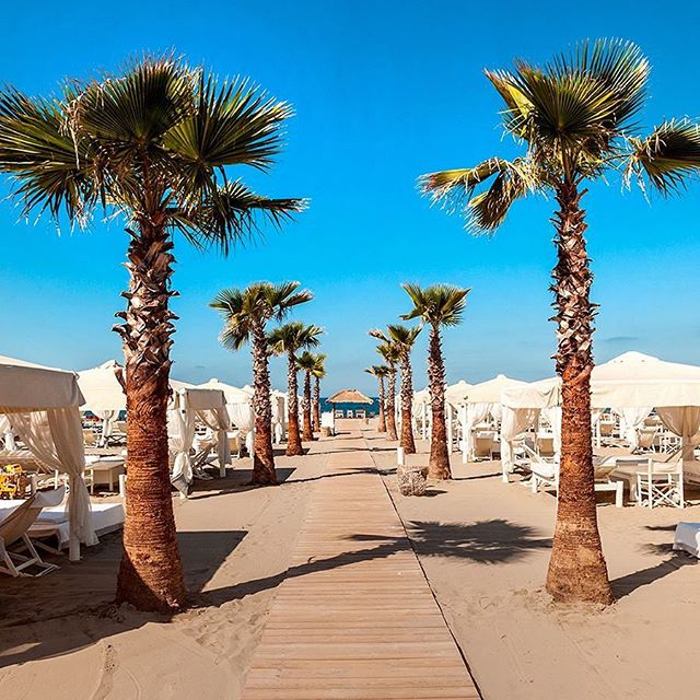 Il Twiga Beach Club in Versilia