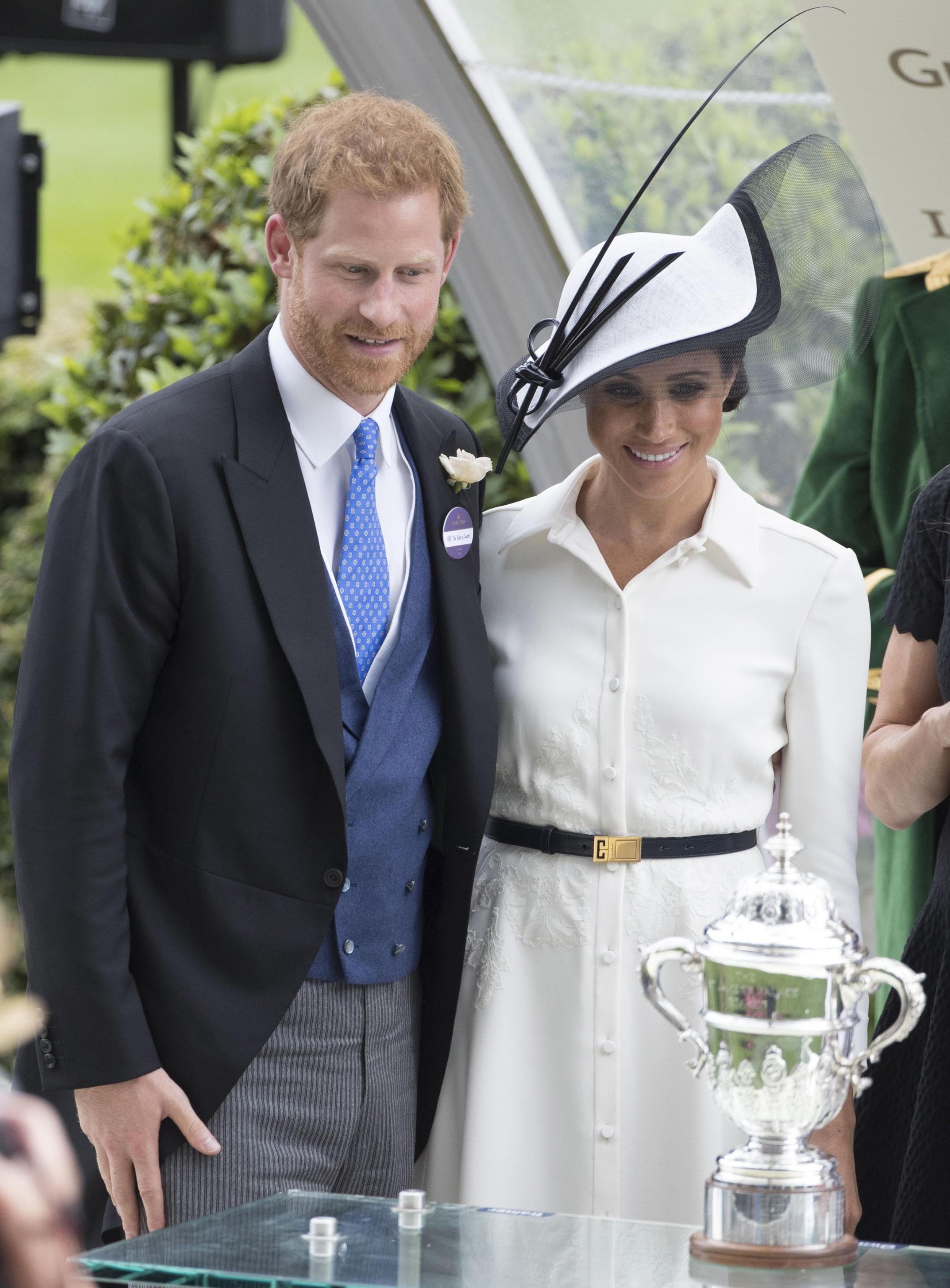 Il look Givenchy di Meghan Markle a Royal Ascot 2018